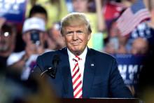 Trump trumfer nyhetsbildet i årets første kvartal