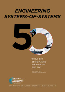 Defence Technology Community's 50th Anniversary Commemorative Book - Engineering Systems-of-Systems