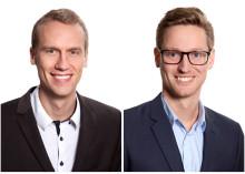 Ny VD och vice VD för Byggnadsaktiebolaget Tornstaden