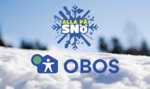 OBOS samarbete med Svenska Skidförbundet aktiverar fler barn på snö