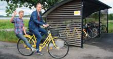 Tekniksprångarna utvecklade en webbtjänst för utlåning av cyklar till Hogias medarbetare