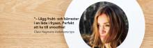 Clara Hagman, Babsan och My Heart is a Metronome ger matsmarta tips