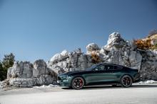 Nový Ford Mustang BULLITT pro Evropu skládá hold legendě stříbrného plátna vyšším výkonem a specifickými designovými detaily