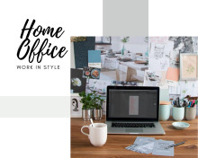 Make it work: Rosenthal embellishes your home office