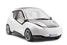 Bil av biokompositer visas upp för industri och forskare i Borås