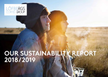 The development of Löfbergs's sustainability work in 2018/2019
