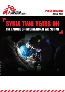 SYRIEN: Humanitär hjälp i dödläge