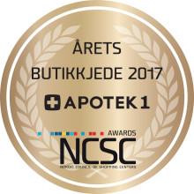 NCSC - Årets Butikkjede Apotek1_ logo