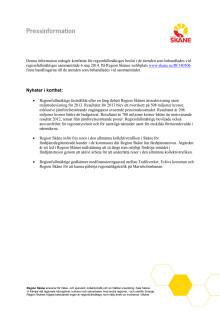 Komplett dagordninf från regionf