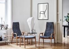 Designklassiker från Swedese på väggen