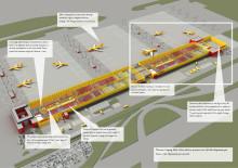 DHL Express investerar 150 miljoner euro för expandering av europeiska navet i Leipzig