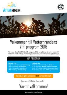VIP-inbjudan Vätternrundan 2016