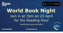 Join us for World Book Night on Thursday