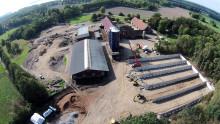 Familjen Skure valde plansilo i LLC-betong