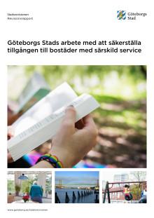 Rapport – Göteborgs Stads arbete med att säkerställa tillgången till bostäder med särskild service (2019-04-09)
