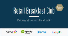 Retail Breakfast Club med Sitoo, Klarna, Google och Spotify Business - 20 mars
