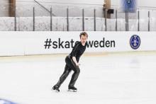 Alexander Majorov säkrade en OS-plats för Sverige i Oberstdorf