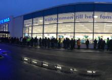 Sveriges 50:e Biltema-varuhus invigt i Varberg