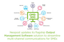 Neopost updates its flagship Output Management Software solution to streamline multi-channel communications for SMEs