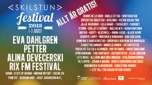 Programmet spikat till Eskilstunafestivalen