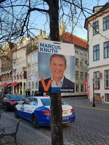 Papplakater blev valgets store vinder