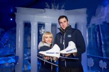 Aljona Savchenko und Bruno Massot stellen HOLIDAY ON ICE Show ATLANTIS in Berlin vor