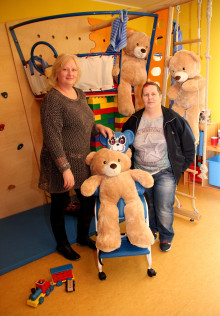 Ehrenamtliches Engagement aus Riesa ermöglicht Sachspenden für das Kinderhospiz