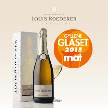 Gyllene Glaset 2015 till Louis Roederer!