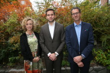 Prevention, kvalitetssäkring, transparens och patientnära forskning i fokus när folkhälso-, sjukvårds- och idrottsminister Gabriel Wikström besökte Sophiahemmet den 20 oktober 2016.