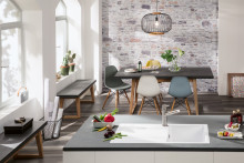 Die Schönheit feiner Formen – Siluet: Die erste Küchenspüle aus TitanCeram