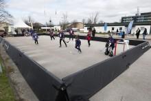 Premiär för Outdoor Hockey School