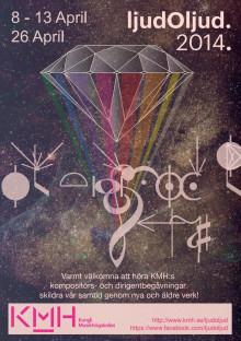Programbok för ljudOljud 2014: KMH-studenternas festival för nyskriven och klassisk musik