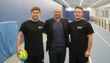 Rugby ace Matt Dawson tries Northumbria's hospitality