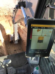 Maskinstyrning på väg in i grävmaskinerna