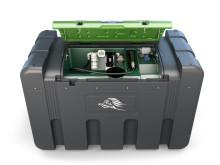 Kompakt och miljösäker dieselförvaring på 2 300 liter