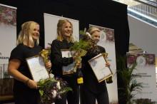 Vinnare i Blomsterbinderikvalet i Nordstan 2 september.