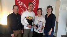 Medarbetare på Falck får hedersutmärkelse för hjälteinsatser