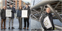 Stadsmiljöpriset 2019 delas mellan två brobyggare