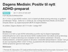 Dagens Medisin: Positiv til nytt ADHD-preparat