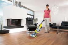 Att rengöra golv har aldrig tidigare varit så lätt och behändigt som nu!