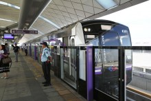 Bangkok's New Mass Rapid Transit Purple Line Starts Operation