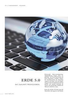 Serie Dematerialisierung: Erde 5.0 – Die Zukunft provozieren