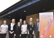 Buckie High girls win young voter competition