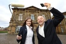 Ashington paint donation to South Shields Theatre Company