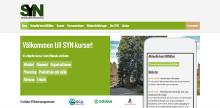 Ny responsiv webbplats för SYN-Kurser