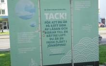 Pressinbjudan: Grönt  eller rött ljus vid luftmätstation på Kungsgatan