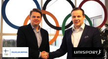 Unisport and the Finnish Olympic Committee will start a co-operation