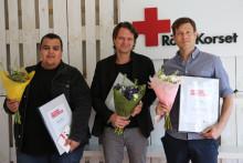 Tre pristagare när Röda Korsets journalistpris delas ut för tionde året