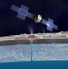 Water plumes on Europa: tasting an extraterrestrial ocean