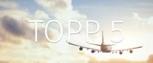 Topp 5: Världens längsta non stop-flygresor